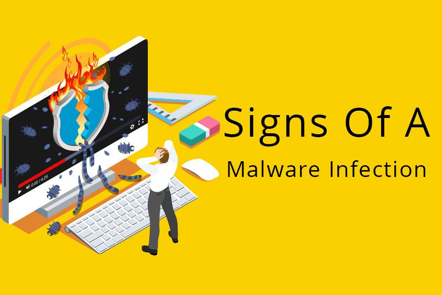 Signs of a malware infection