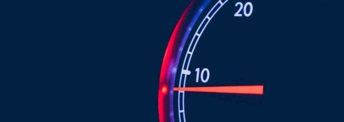 Speed display for quotas and throttling