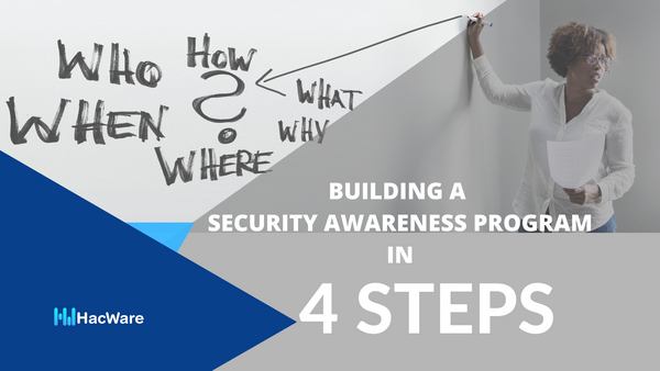 How to start a Security Awareness Program for a Small Business in 4 Steps?